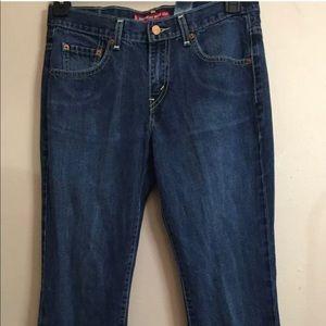 Levi's 515 Neuveau Bootcut Jeans- size 6 long